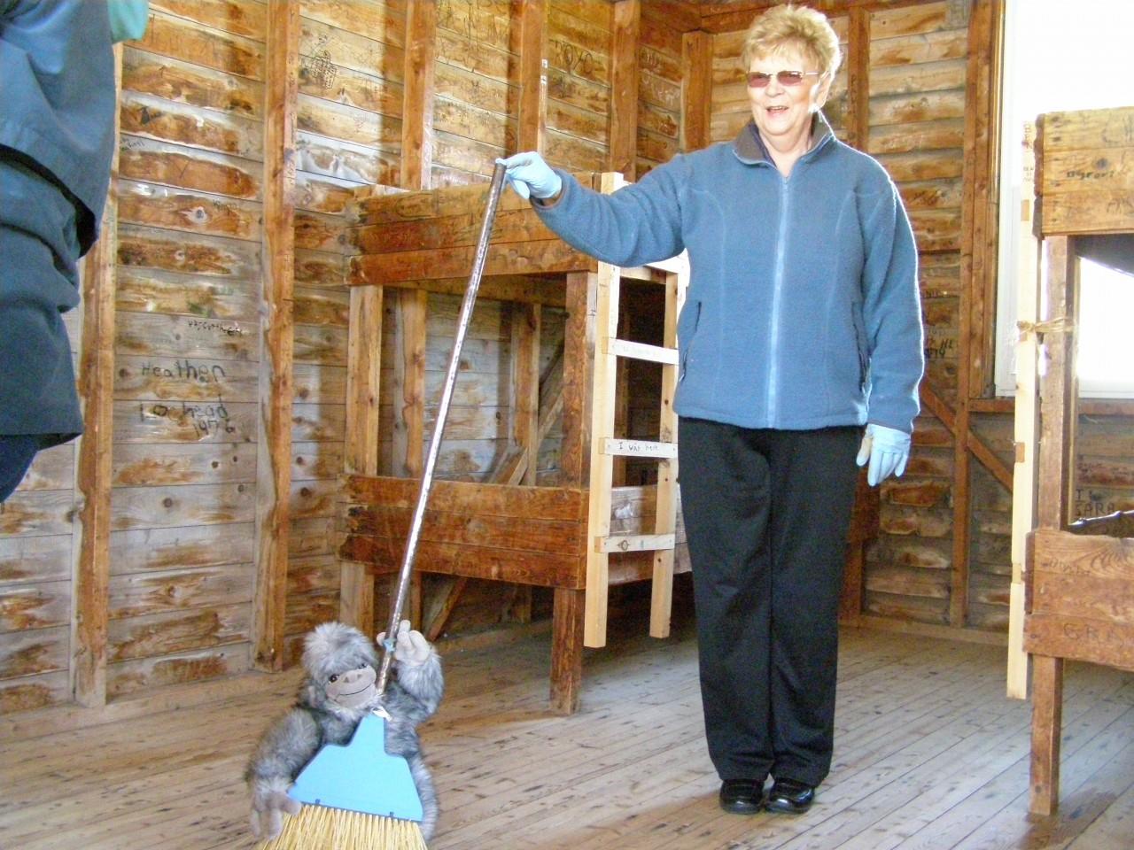 Clean up at Camp McLellan – May 2010 (1)