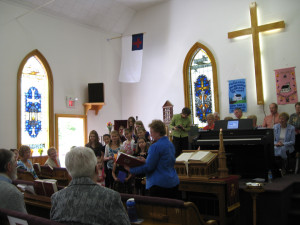 Retirement of Rev Sue King Darby